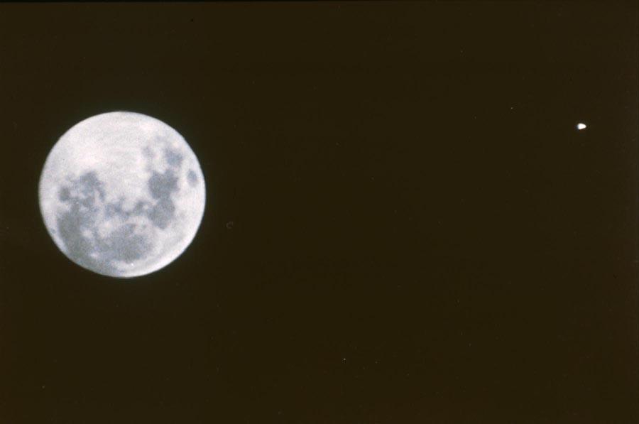 last space shuttle moon - photo #25